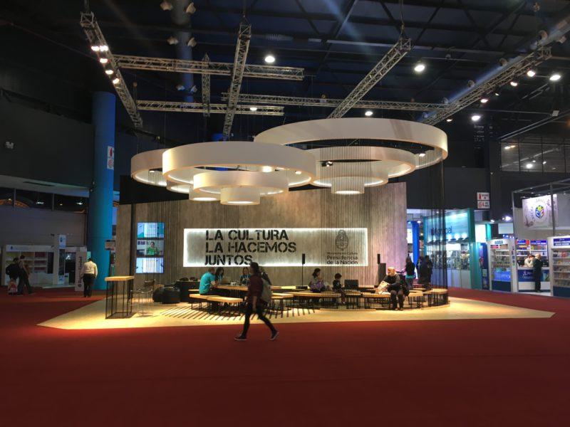 Stand Ministerio de Cultura de la Nación en 43 Feria del Libro, 2017